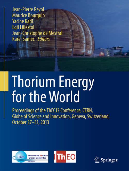 Thorium Energy for the World