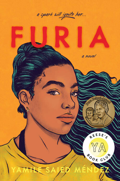 Collection sample book cover Furia by Yamile Mendez