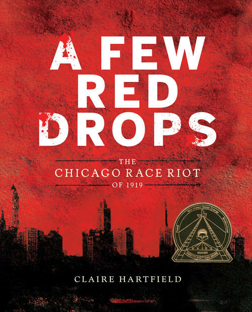 Collection sample book cover A Few Red Drops by Claire Hartfield