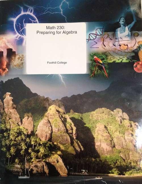 Preparing for Algebra (Math Course 230 #Volume 2)