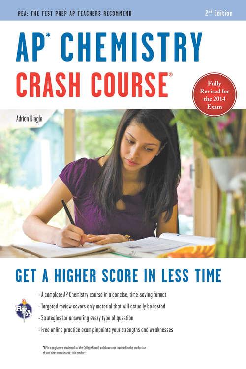 AP Chemistry Crash Course Book + Online