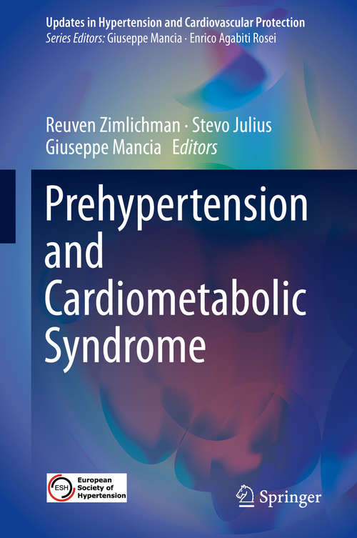 Prehypertension and Cardiometabolic Syndrome (Updates in Hypertension and Cardiovascular Protection)
