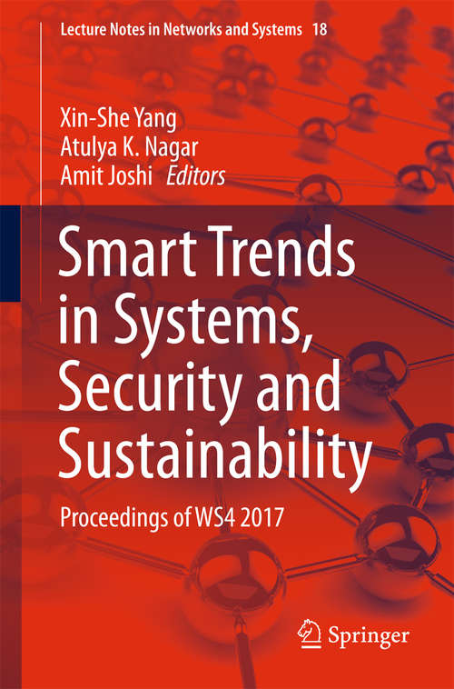 Smart Trends in Systems, Security and Sustainability