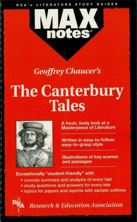 Canterbury Tales, The (MAXNotes Literature Guides)