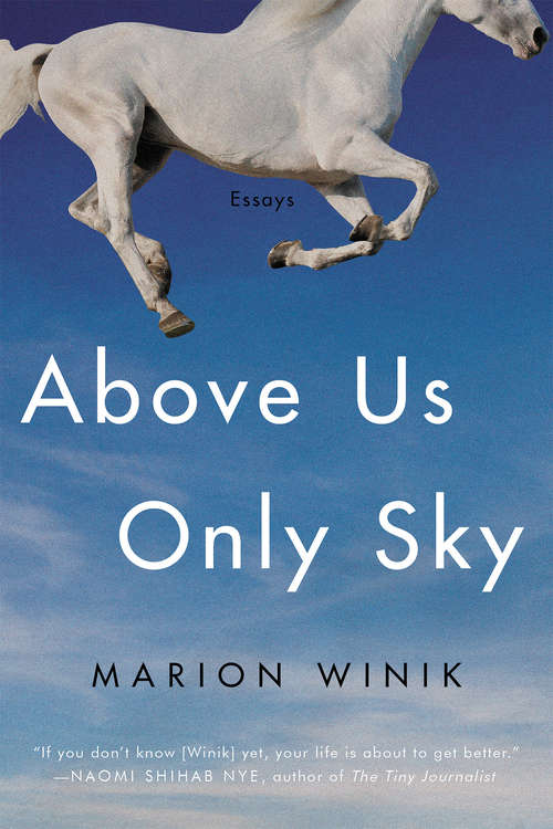 Above Us Only Sky: Essays
