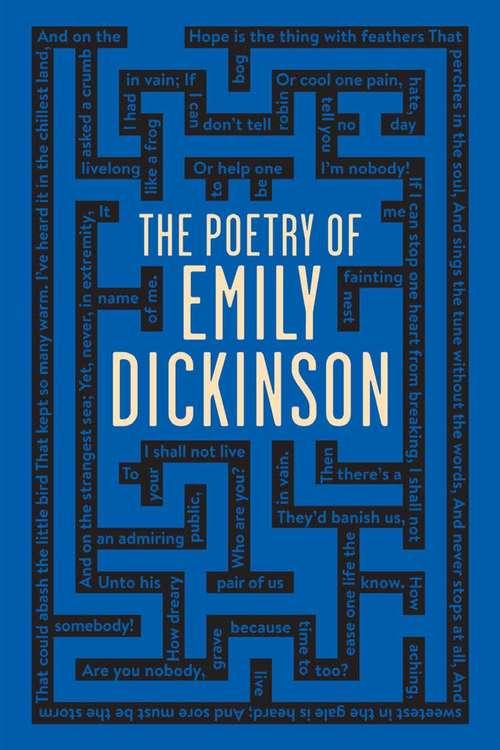 The Poetry of Emily Dickinson (Wordsworth Classics)
