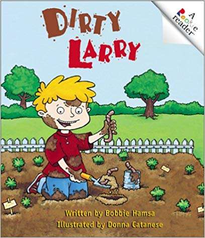 Collection sample book cover Dirty Larry