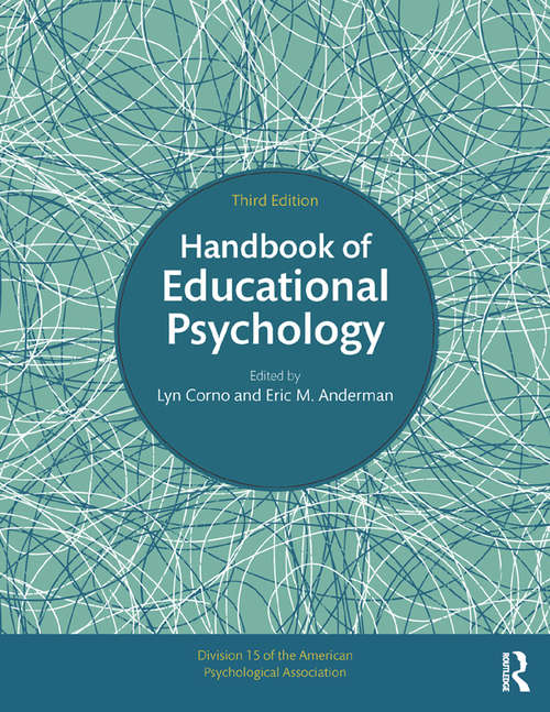 Handbook of Educational Psychology (Educational Psychology Handbook Ser.)