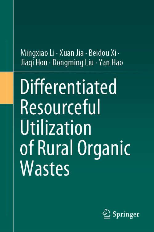 Differentiated Resourceful Utilization of Rural Organic Wastes