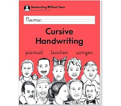 Cursive Handwriting (Handwriting Without Tears)