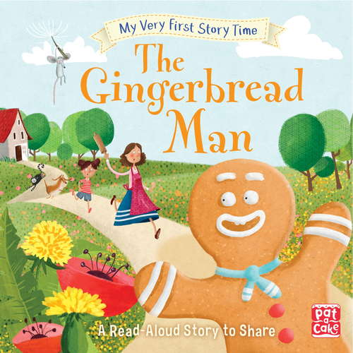 The Gingerbread Man: Fairy Tale with picture glossary and an activity (My Very First Story Time #8)