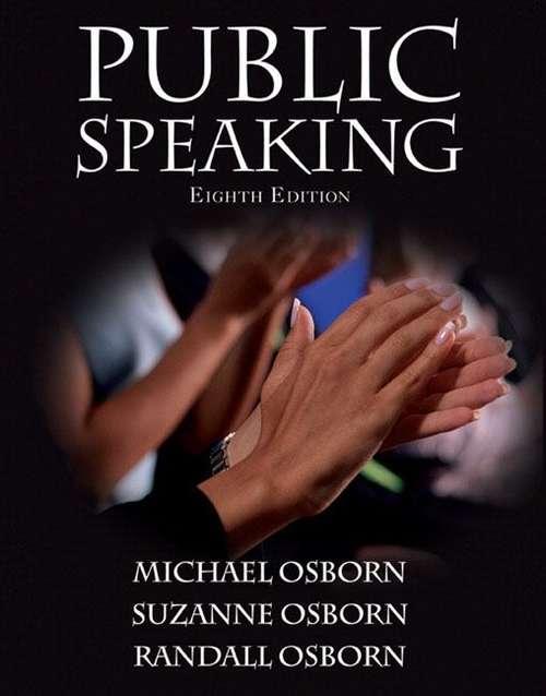 Public Speaking (8th edition)