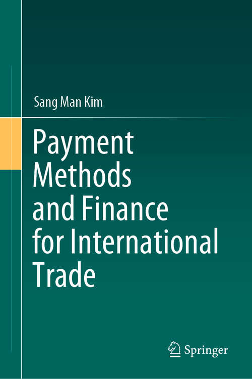 Payment Methods and Finance for International Trade