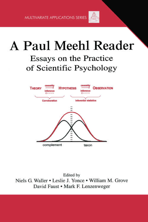 A Paul Meehl Reader: Essays on the Practice of Scientific Psychology (Multivariate Applications Series)