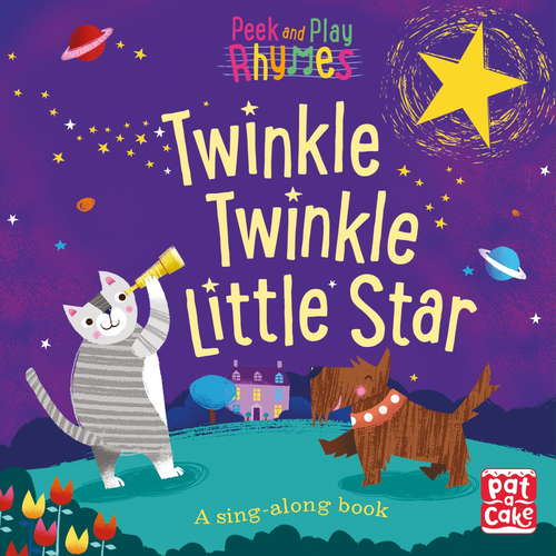 Twinkle Twinkle Little Star: A baby sing-along book (Peek and Play Rhymes #4)