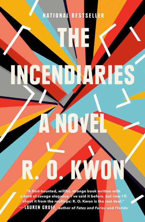Collection sample book cover The Incendiaries by R.O. Kwon