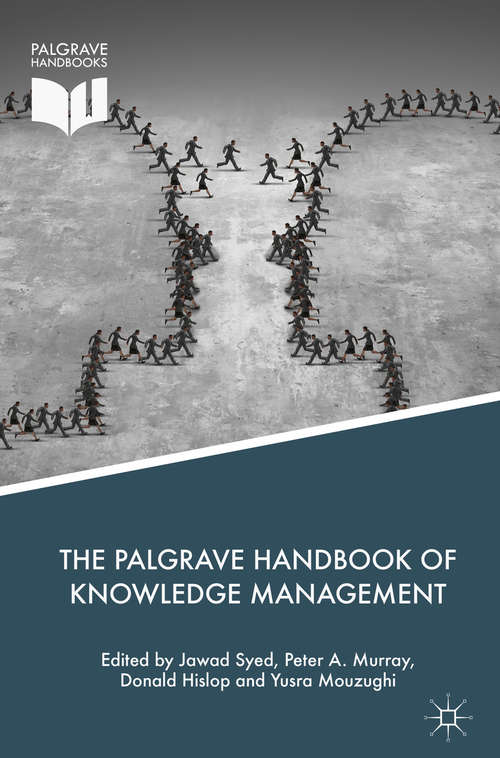 The Palgrave Handbook of Knowledge Management