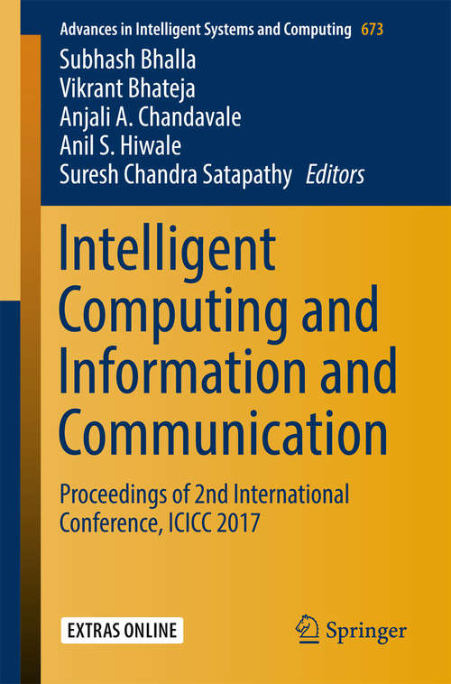 Intelligent Computing and Information and Communication
