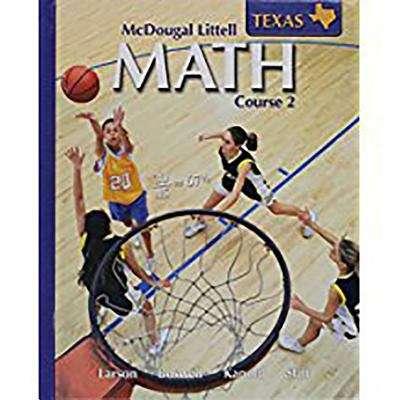 Math Course 2 (Grade 7, Texas Edition)
