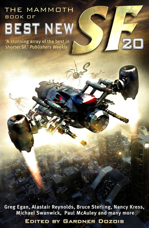 The Mammoth Book of Best New SF 20 (Mammoth Books #239)