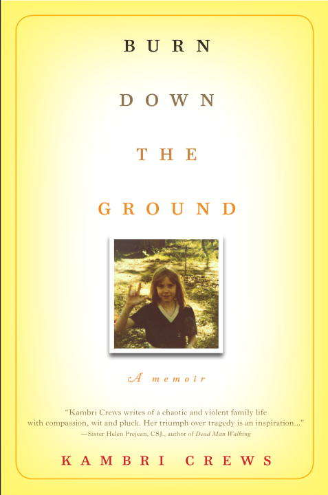 Collection sample book cover Burn Down the Groundt