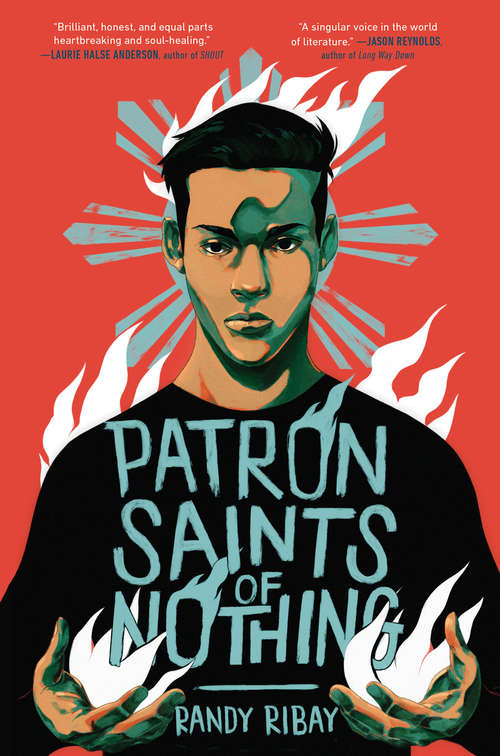 Collection sample book cover Patron Saints of Nothing by Randy Ribay
