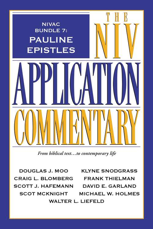 NIVAC Bundle 7: Pauline Epistles
