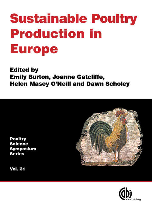 Sustainable Poultry Production in Europe