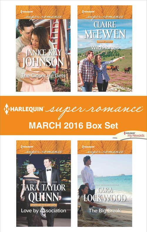 Harlequin Superromance March 2016 Box Set