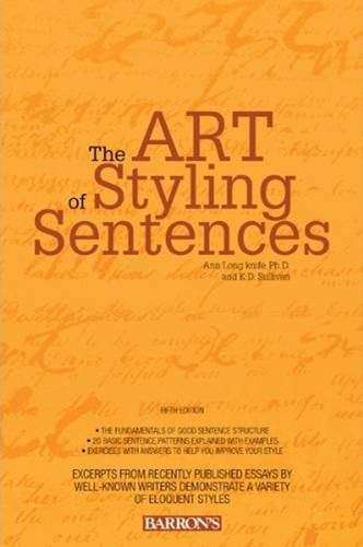 The Art Of Styling Sentences