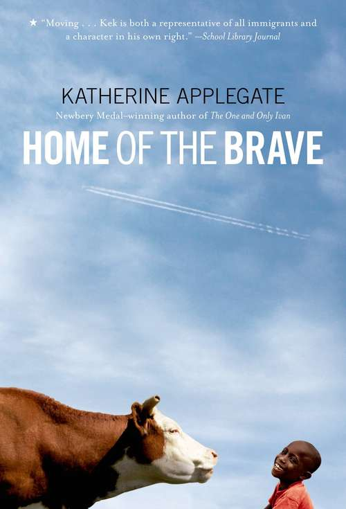 Collection sample book cover Home of the Brave
