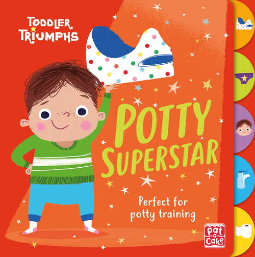 Potty Superstar: A potty training book for boys (Toddler Triumphs #2)