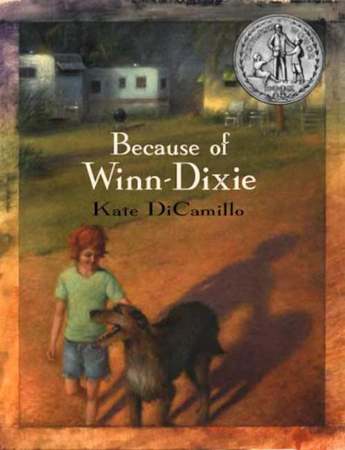 Collection sample book cover Because of Winn Dixie by Kate DiCamilo