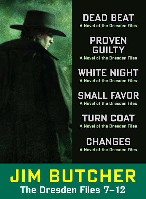 The Dresden Files Collection 7-12 (Dresden Files)