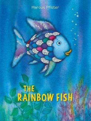 Collection sample book cover The Rainbow Fish, sparkly fish in the ocean