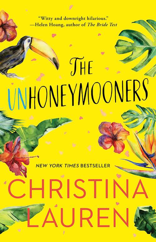 Collection sample book cover The Unhoneymooners by Christina Lauren