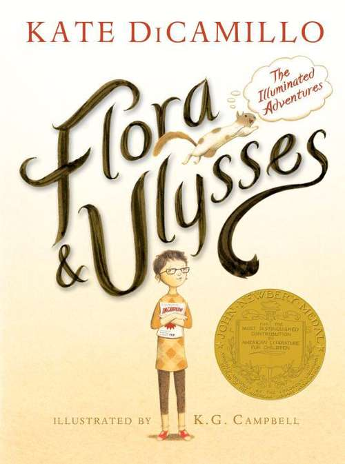 Collection sample book cover Flora And Ulysses: The Illuminated Adventures
