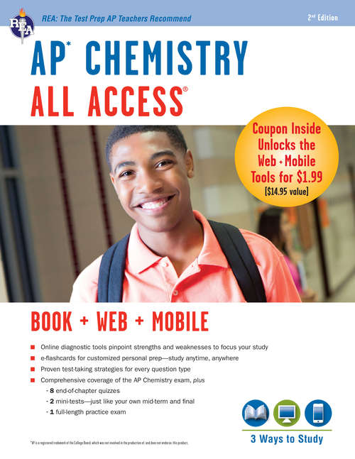 AP Chemistry All Access Book + Online + Mobile (Advanced Placement (AP) All Access)