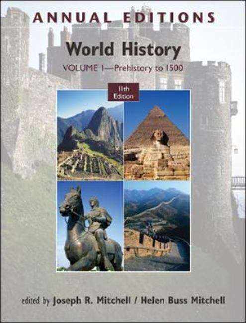 Annual Editions: Prehistory to 1500