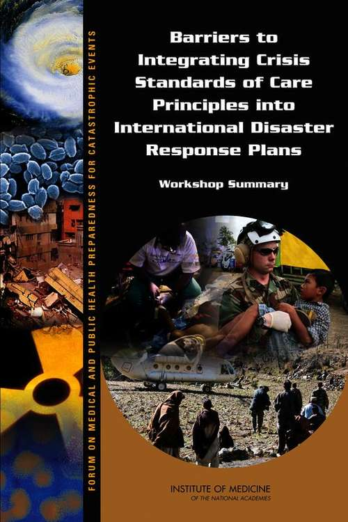 Barriers to Integrating Crisis Standards of Care Principles into International Disaster Response Plans