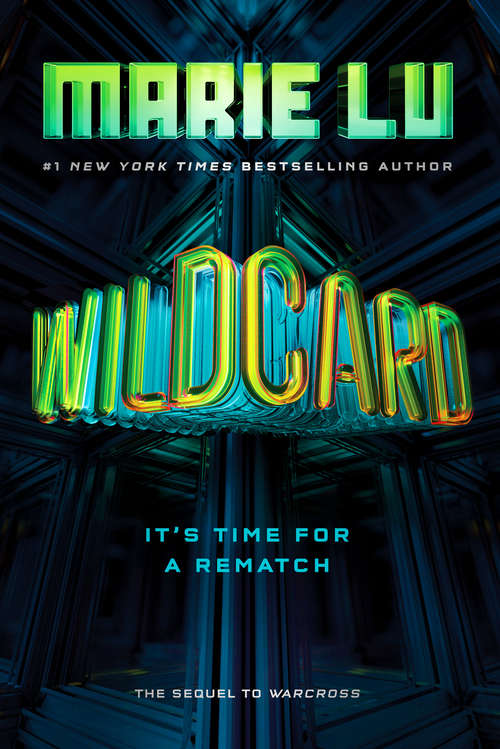 Collection sample book cover Wildcard (sequel to Warcross) by Marie Lu