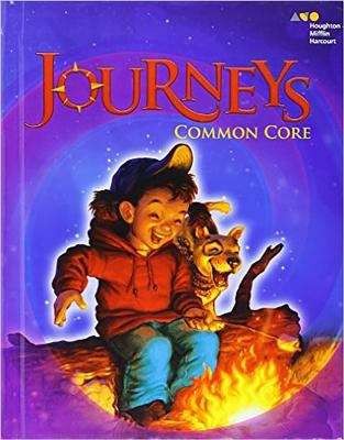 Cover of Journeys grade 1 Common Core Edition