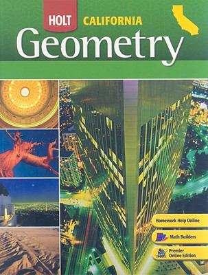Holt Geometry (California Edition)