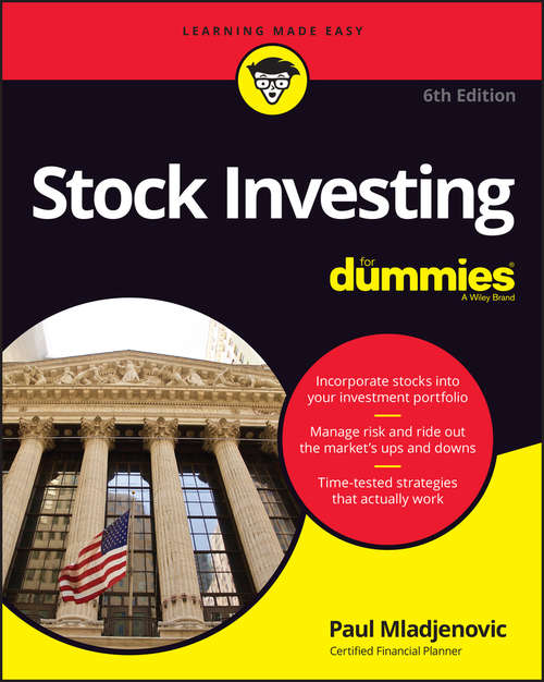 Stock Investing For Dummies: 5th Edition (For Dummies Ser.)
