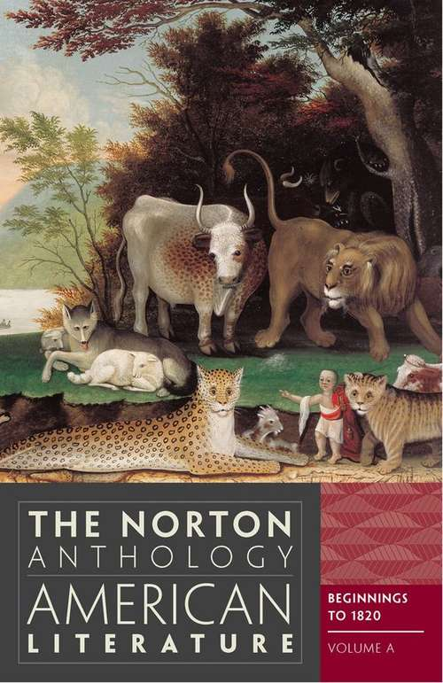 The Norton Anthology Of American Literature Uk Education Collection