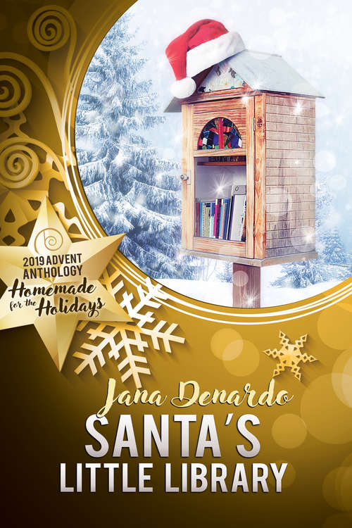 Santa's Little Library (2019 Advent Calendar   Homemade for the Holidays #25)