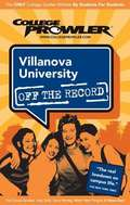 Villanova University (College Prowler)