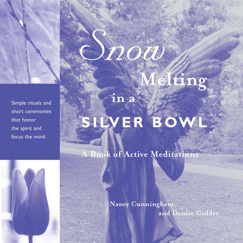 Snow Melting in a Silver Bowl