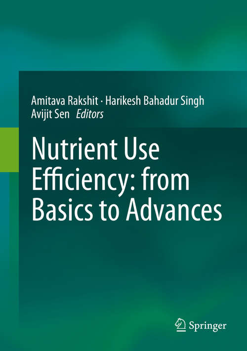 Nutrient Use Efficiency: from Basics to Advances