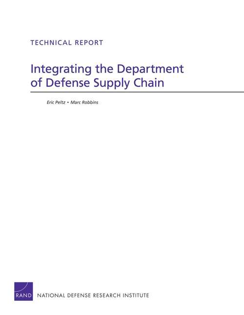 Integrating the Department of Defense Supply Chain